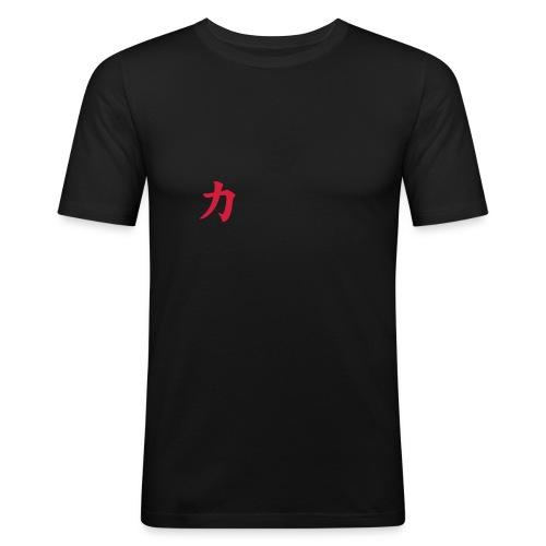 chikara symbol - Männer Slim Fit T-Shirt
