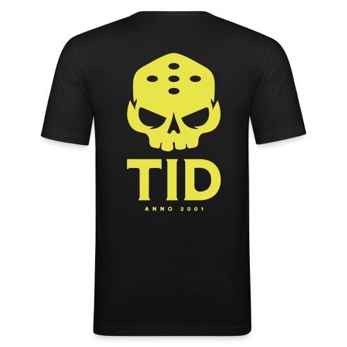 TID tryck rygg - Slim Fit T-shirt herr