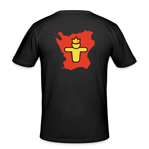 Turf Skåne symbol - Slim Fit T-shirt herr
