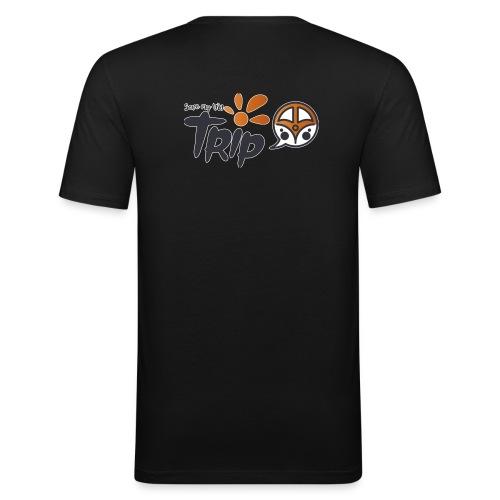 Logo pour fond sombre - T-shirt près du corps Homme
