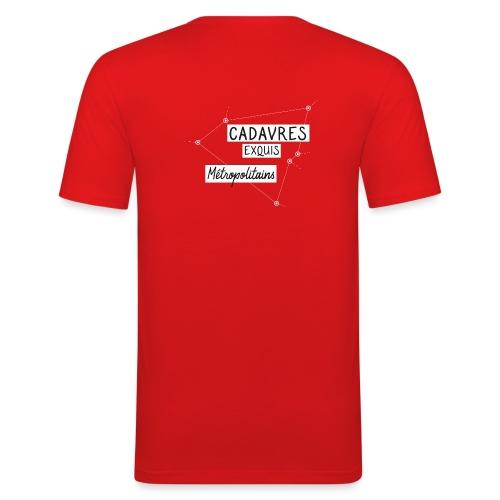 Cadavres Exquis Métropolitains - T-shirt près du corps Homme