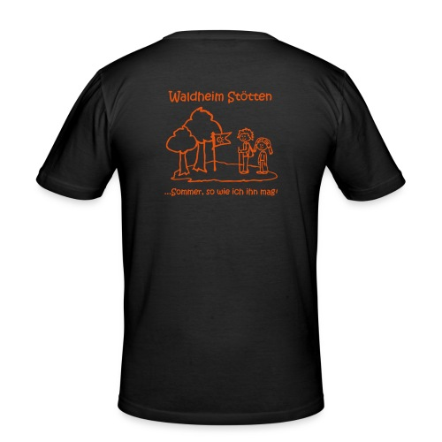 Waldheim Stötten Sommer so wie ich ihn mag - Männer Slim Fit T-Shirt