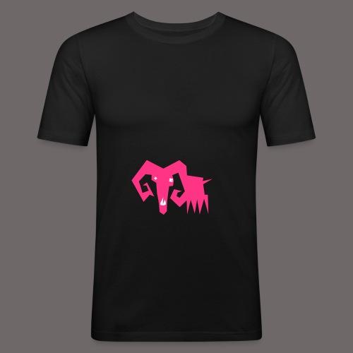 grosse ziege - Männer Slim Fit T-Shirt