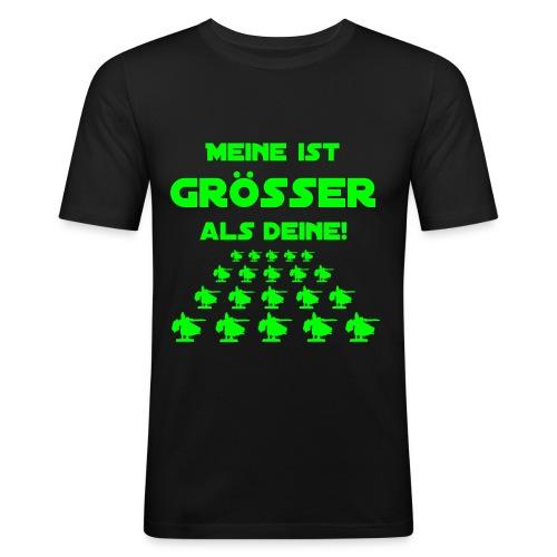 mg shirt meineistgroesser - Männer Slim Fit T-Shirt