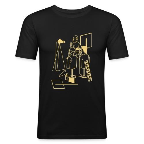 alternative_facts2_vorne - Männer Slim Fit T-Shirt