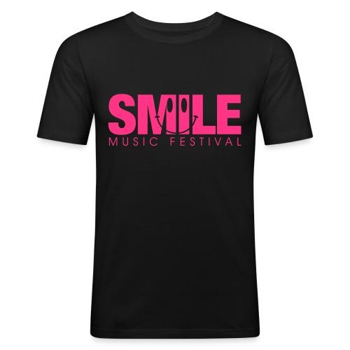 SMILE MUSIC FESTIVAL - Männer Slim Fit T-Shirt