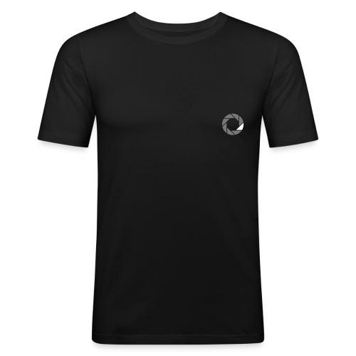 famebitch logo - Männer Slim Fit T-Shirt