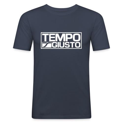 Tempo Giusto Rectangle - Men's Slim Fit T-Shirt