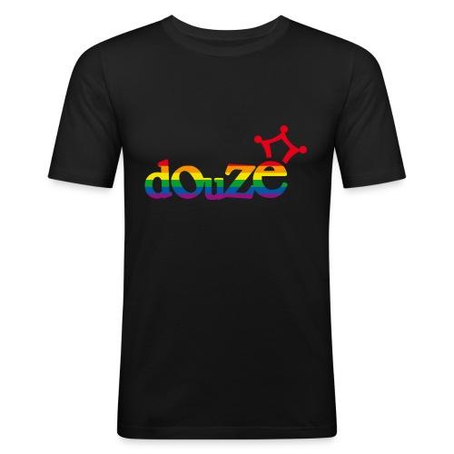 douze arc en ciel - T-shirt près du corps Homme