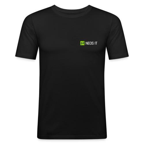 NeosIT Logo 2017 (2c) - Männer Slim Fit T-Shirt