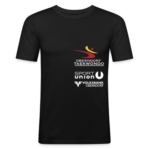 tkd schirt simple farbev7 - Männer Slim Fit T-Shirt