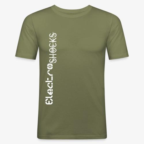 ElectroShocks B W - T-shirt près du corps Homme