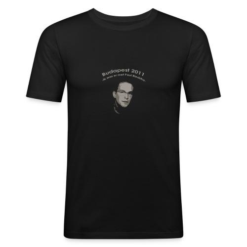 PaulRiedstraVoor - Mannen slim fit T-shirt