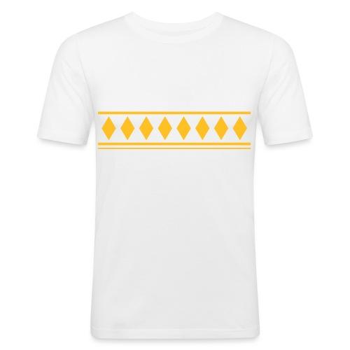 jussipaitakuvio - Miesten tyköistuva t-paita