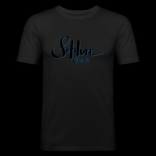 Schluri - Männer Slim Fit T-Shirt