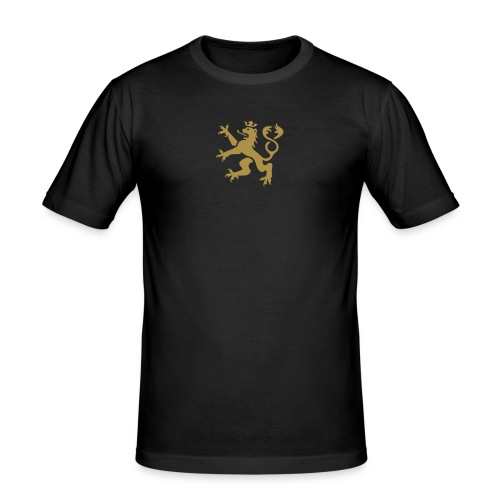 Wappenlöwe 1c - Männer Slim Fit T-Shirt