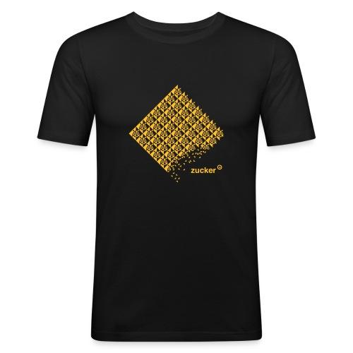 zucker 180mm - Männer Slim Fit T-Shirt
