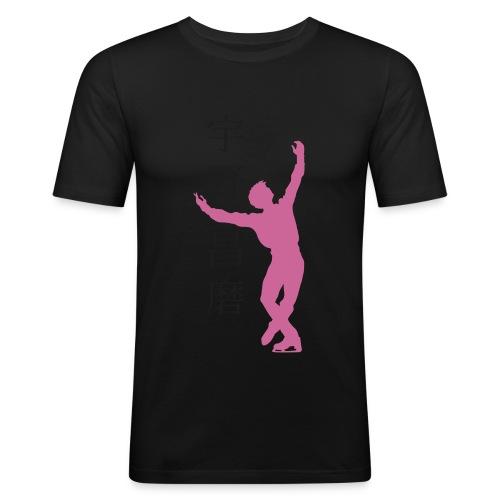 shomauno - Männer Slim Fit T-Shirt
