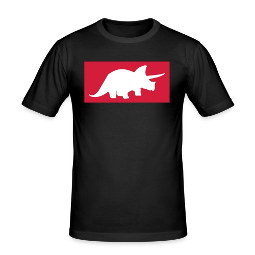 triceratops Design - Männer Slim Fit T-Shirt