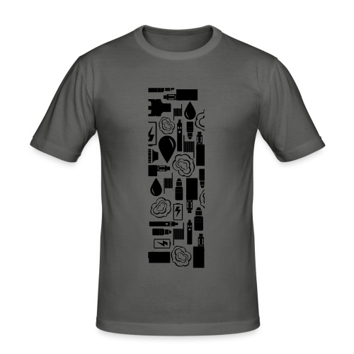 Vaperlogo - Männer Slim Fit T-Shirt