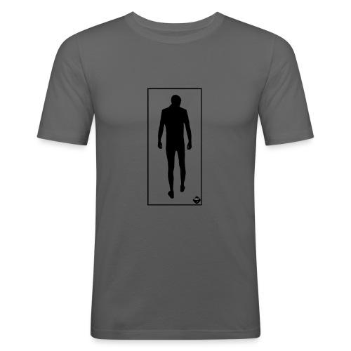 Man In Mirror - Slim Fit T-shirt herr