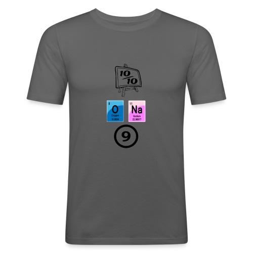 10 av 10, ona-9 - Slim Fit T-skjorte for menn