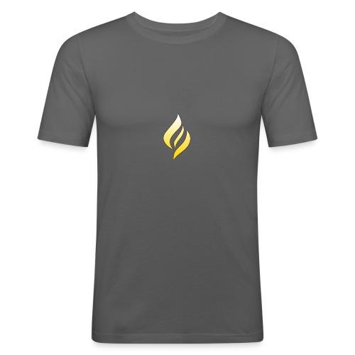 LUX Default Logo - Men's Slim Fit T-Shirt