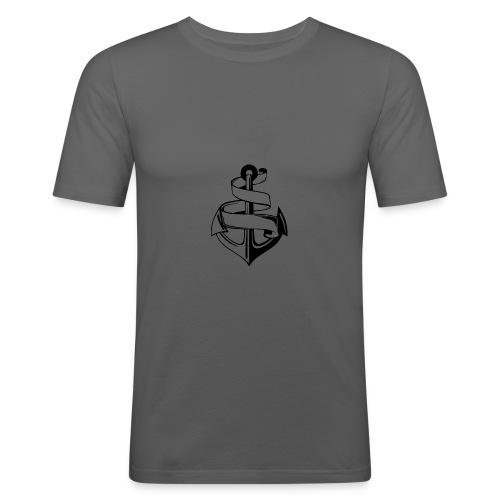 Ankare. - Slim Fit T-shirt herr