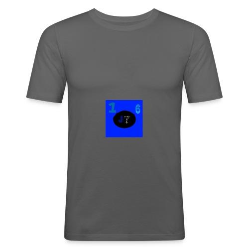 JakeyTruck16 special logo - Men's Slim Fit T-Shirt