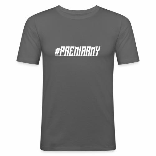 PremiArmy - Männer Slim Fit T-Shirt