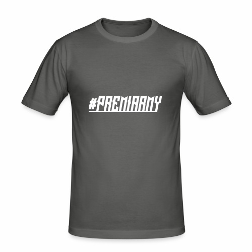 PremiArmy - Männer Slim Fit T-Shirt