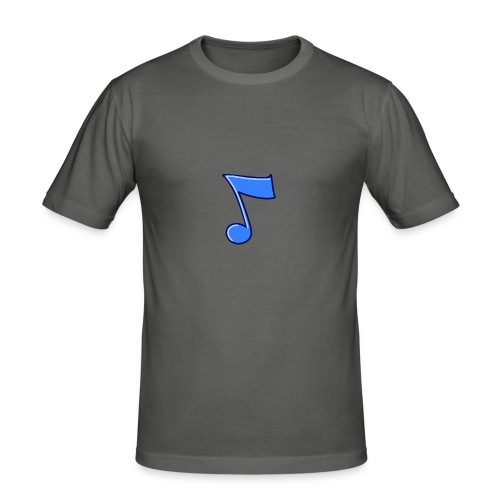 mbtwms_Musical_note - slim fit T-shirt