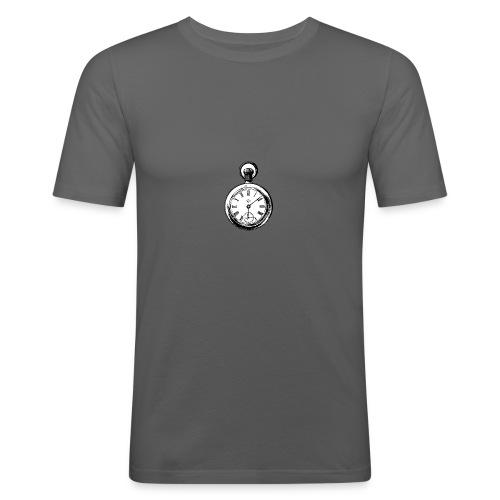 johnny_automatic_pocket_watch - Obcisła koszulka męska