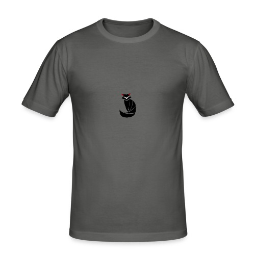 FOXXy-Designs Logo - Männer Slim Fit T-Shirt