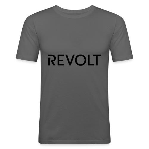 Revolt - Männer Slim Fit T-Shirt