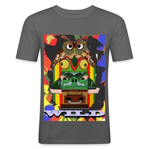Totem Animal - T-shirt près du corps Homme
