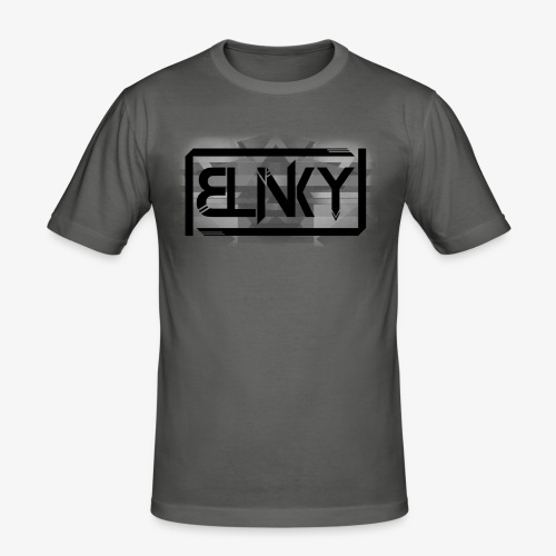 Blinky Compact Logo - Men's Slim Fit T-Shirt