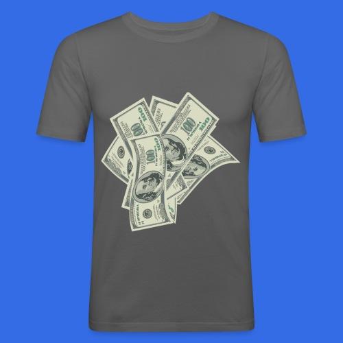 more money - Men's Slim Fit T-Shirt