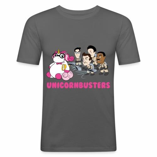 Unicornbuster - Männer Slim Fit T-Shirt