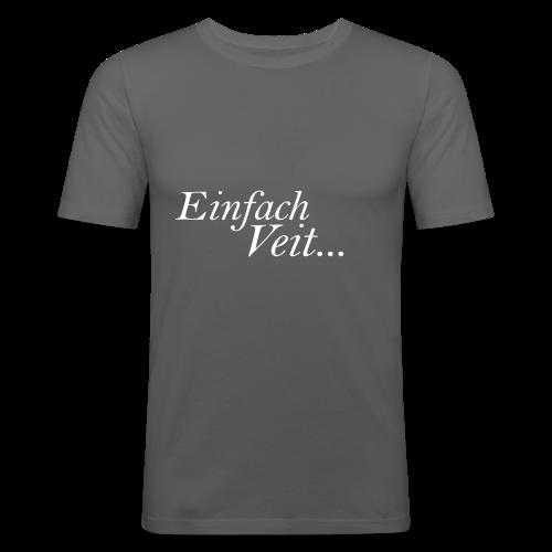 Standart Einfach Veit... TheVeit - Männer Slim Fit T-Shirt