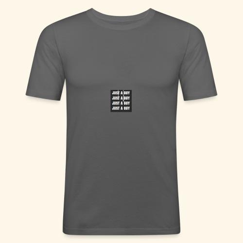 just a guy - Slim Fit T-skjorte for menn