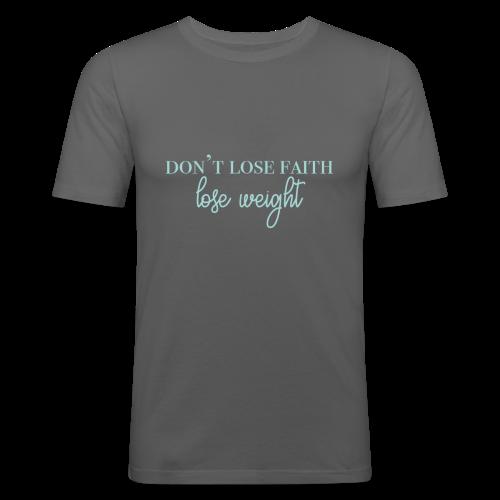 dontlosefaith Collection - Slim Fit T-skjorte for menn