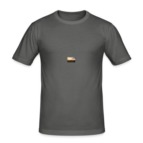 Sonnenuntergang - Männer Slim Fit T-Shirt