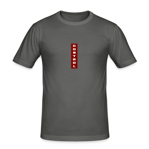 Red Control - Men's Slim Fit T-Shirt