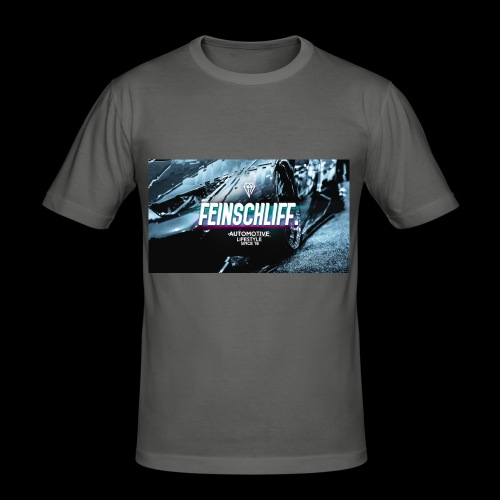 Feinschliff. Lambo Print - Männer Slim Fit T-Shirt
