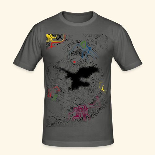 Sporty Touch - Männer Slim Fit T-Shirt