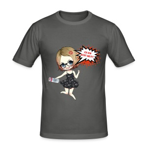 LuuvaSalt - Männer Slim Fit T-Shirt