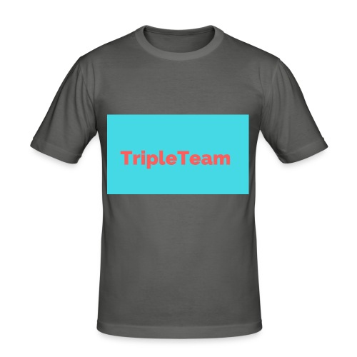TripleTeam Logo - slim fit T-shirt