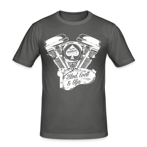 CBS Motor - Slim Fit T-shirt herr