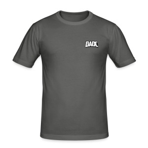 DaDC Logo Design - Men's Slim Fit T-Shirt